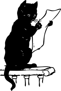 cat_reading_black_white_line_art_coloring_book_colouring-555px